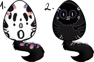 Mystery adopts egg auction (CLOSED) by SilverFeather-Adopts