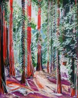 The Redwoods by LauraHolArt