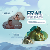 FRAIL | PSD COLORING PACK by Thearchetypes