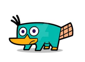 FOP Style - Perry the platypus by JaviDLuffy