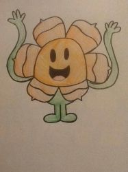 TMMS-Cuphead: Mr. Tickle as Cagney Carnation by Strongcheetah24