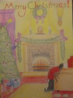 My christmas card design entry by Twillight-lover