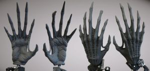 Alien Hand Palm by CB-FX