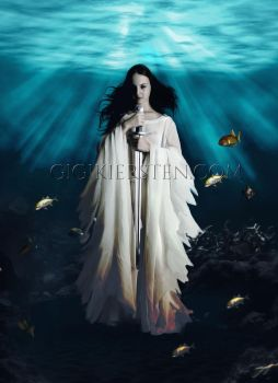 Lady of The Lake: Photo Manipulation by justaddgigi