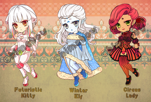 Adoptables {$10+ - CLOSED} by himebuns