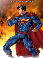 Superman (The New 52) Color Sample by Neokoi