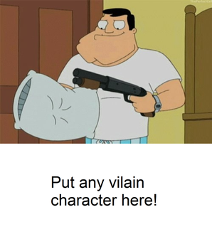 Stan is ready to fight a blank meme by Mroyer782