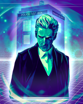 Doctor Who - Peter Capaldi by Kachumi