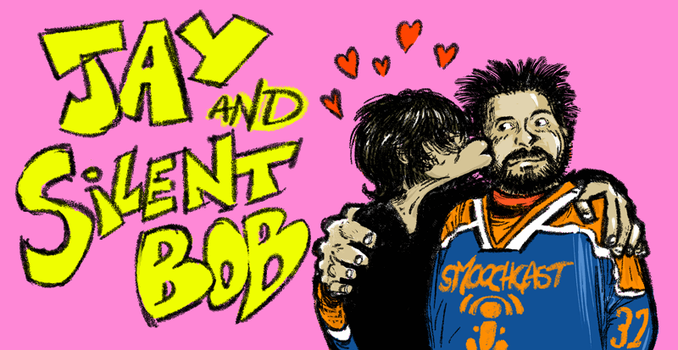 Jay and Silent Bob Case Design by alberic