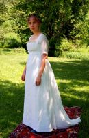 Regency Muslin Ball Gown I by Goldenspring