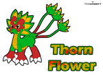 OC-Thorn Flower by WingedKnight7