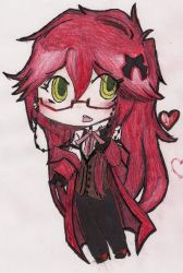 Grell Chibehh :D by IILoveAniime