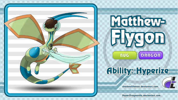 HyperDragoonHx Commission - Matthew-Flygon by ShadowLifeman