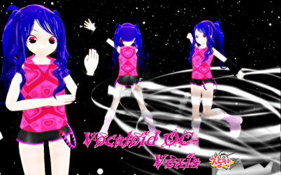 :Newest Vocaloid OC: Vexis Vexia: by MMD-Angel-Nia