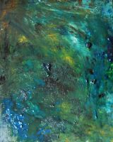Storm, 2011, 24-30cm, oil on canvas by oanaunciuleanu