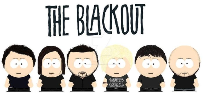 South Park The Blackout by lord-nightbreed
