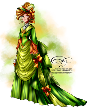 Commission - Lady Tansy by selinmarsou