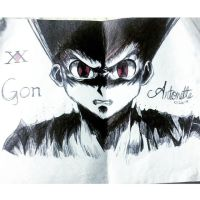 Hunter X Hunter - Gon Freecs Fan Art by ARTonette