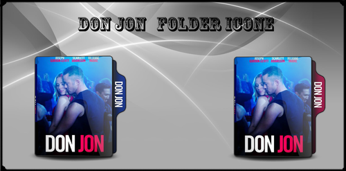 Don Jon movie folder icon by AS-aakash by ASaakash
