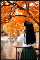 Autum day by WhiteRavenCosplay