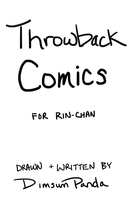 Throwback Comics for Rin-chan Title by DimsumPanda