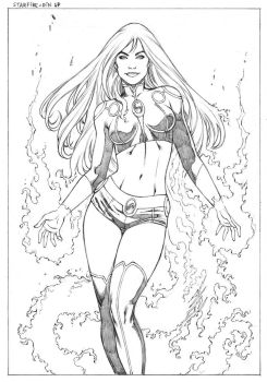StarFire PinUp by wgpencil