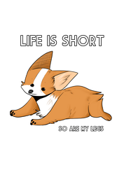 Life Is Short by artwork-tee