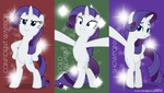 MLP Wallpaper - Power Posing by jhayarr23