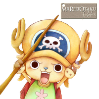 Strong World Chopper Render by MrReltOtaku