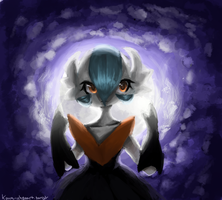 Shiny Mega Gardevoir Use Moonblast! by fraisecake