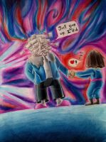 Undertale - Just give up by constancelea