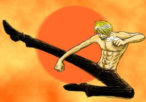 Sanji + St Patricks contest 8 by OnePieceUnlimited