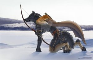 The Hunt - By ShinigamiGirl by smokepawwolf