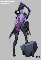 Widowmaker by GARAYANN