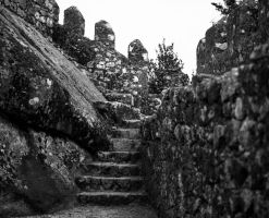 Ancient Stairs #1 by Roger-Wilco-66