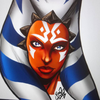 Ahsoka Tano by channandeller
