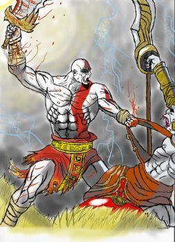 GOD OF WAR FANART by TheGRIZZAMman