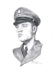 Elvis in the army by miguelzuppo
