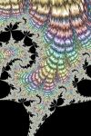 Shiny Rainbow Fractal by Kaleiope-Studio