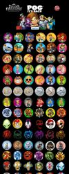 All my POGs by SOSFactory