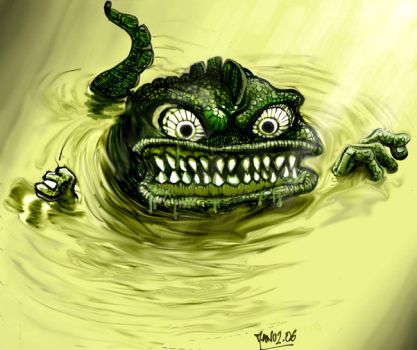 Crapaud mutant by Manu-2005