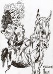 Rogue on a horse by jacksony22
