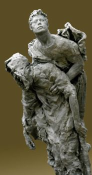 Ascension of the Beggar by sculptor6