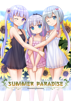 Summer Paradise by Kazenokaze