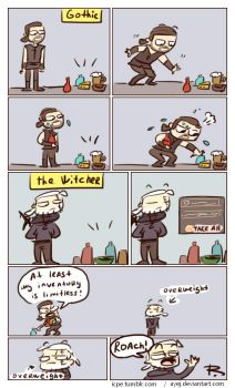 The Witcher 3, doodles 259 by Ayej