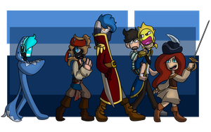 Pirates | 01 by CagedMirrow