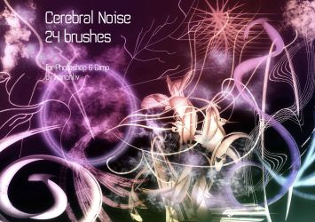 Cerebral Noise. 24 Brushes. by kanonliv