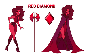 Red Diamond by LadyNephthys