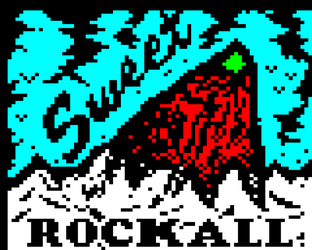 Sweet Rockall // Teletext art by illarterate
