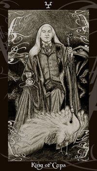 HP Tarot - King of Cups by Ellygator